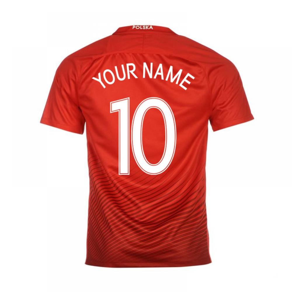 2016-17 Poland Away Shirt (Your Name)