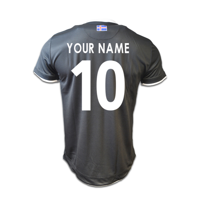 2016-17 Iceland Third Shirt (Your Name)