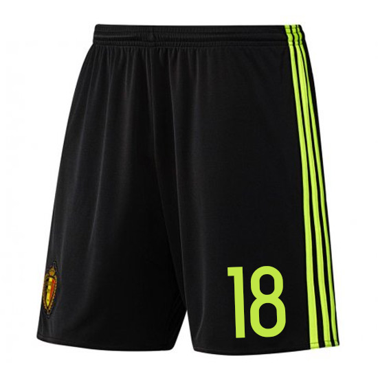 2016-17 Belgium Home Shorts (18) - Kids
