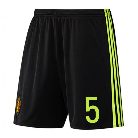 Image of 2016-17 Belgium Home Shorts (5) - S