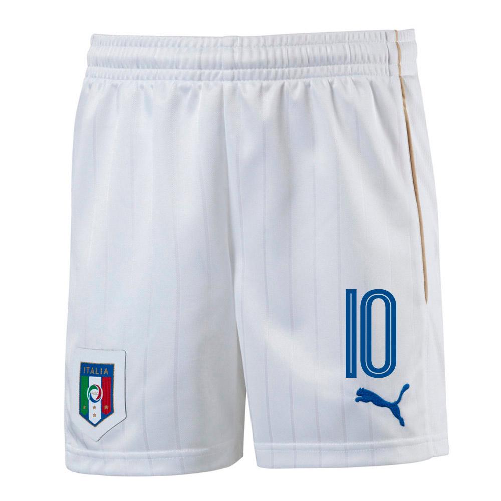 2016-17 Italy Home Shorts  (10) - Kids