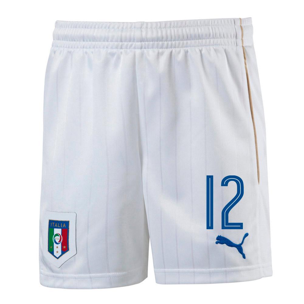 2016-17 Italy Home Shorts  (12)