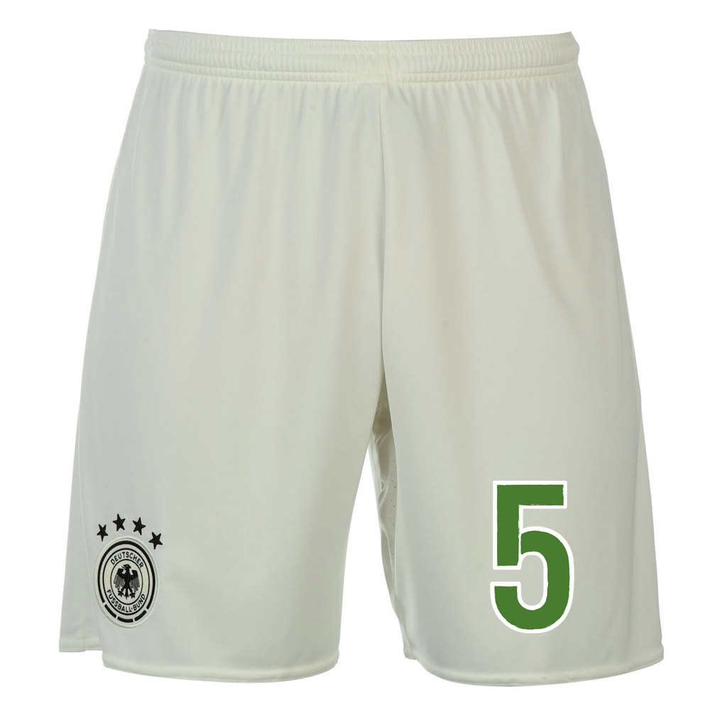 2016-17 Germany Away Shorts (5) - Kids