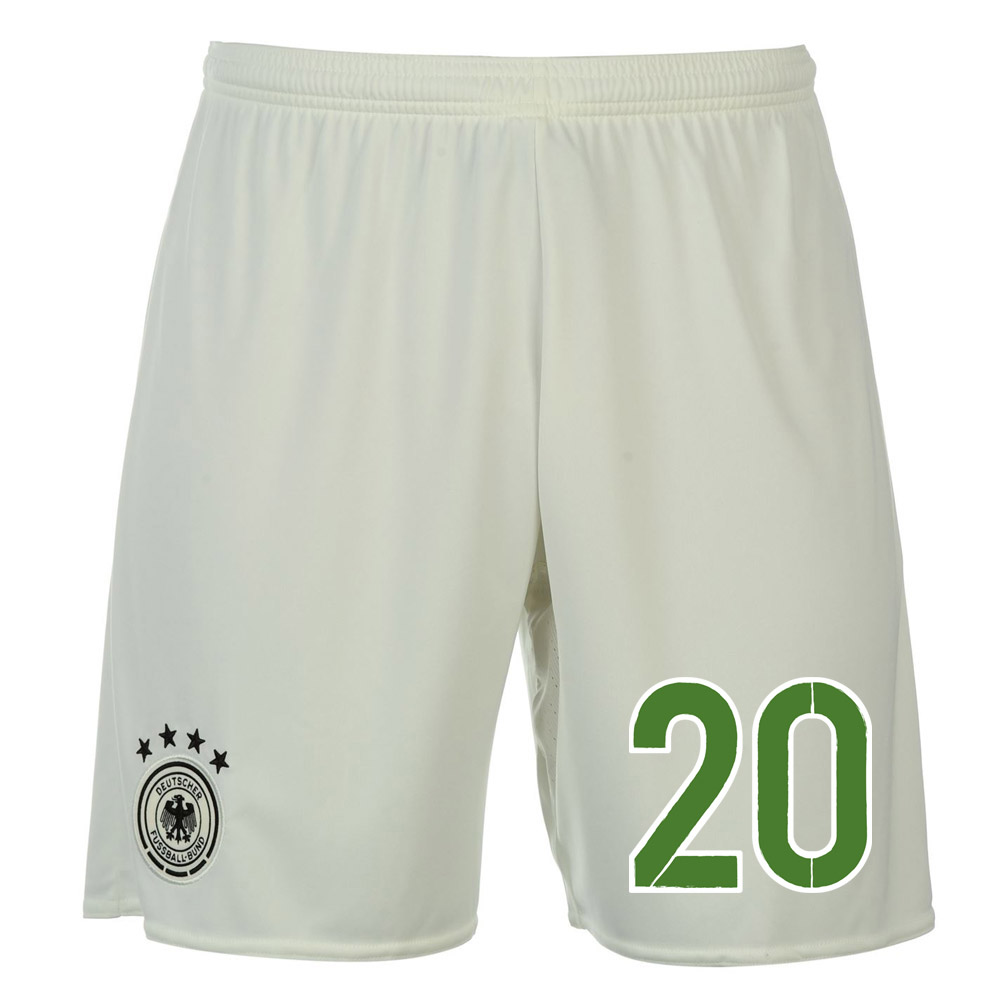 2016-17 Germany Away Shorts (20) - Kids
