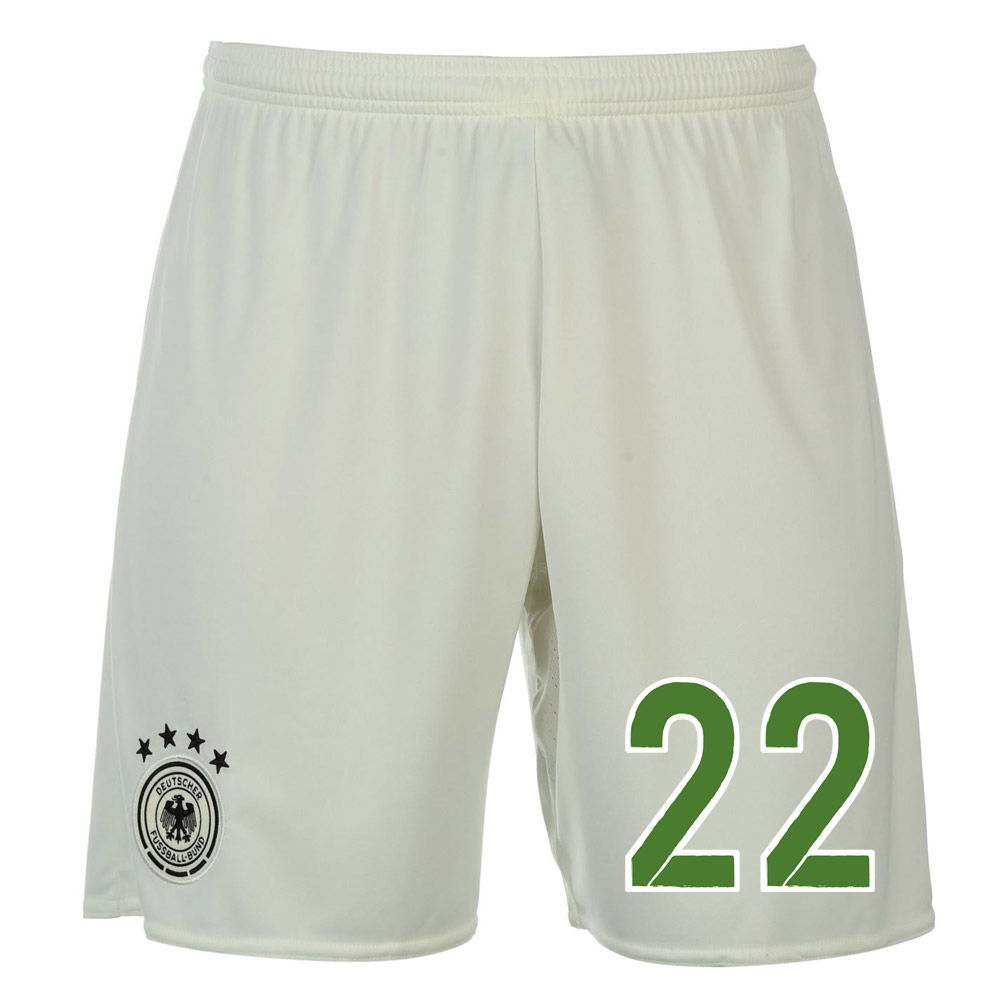 2016-17 Germany Away Shorts (22) - Kids