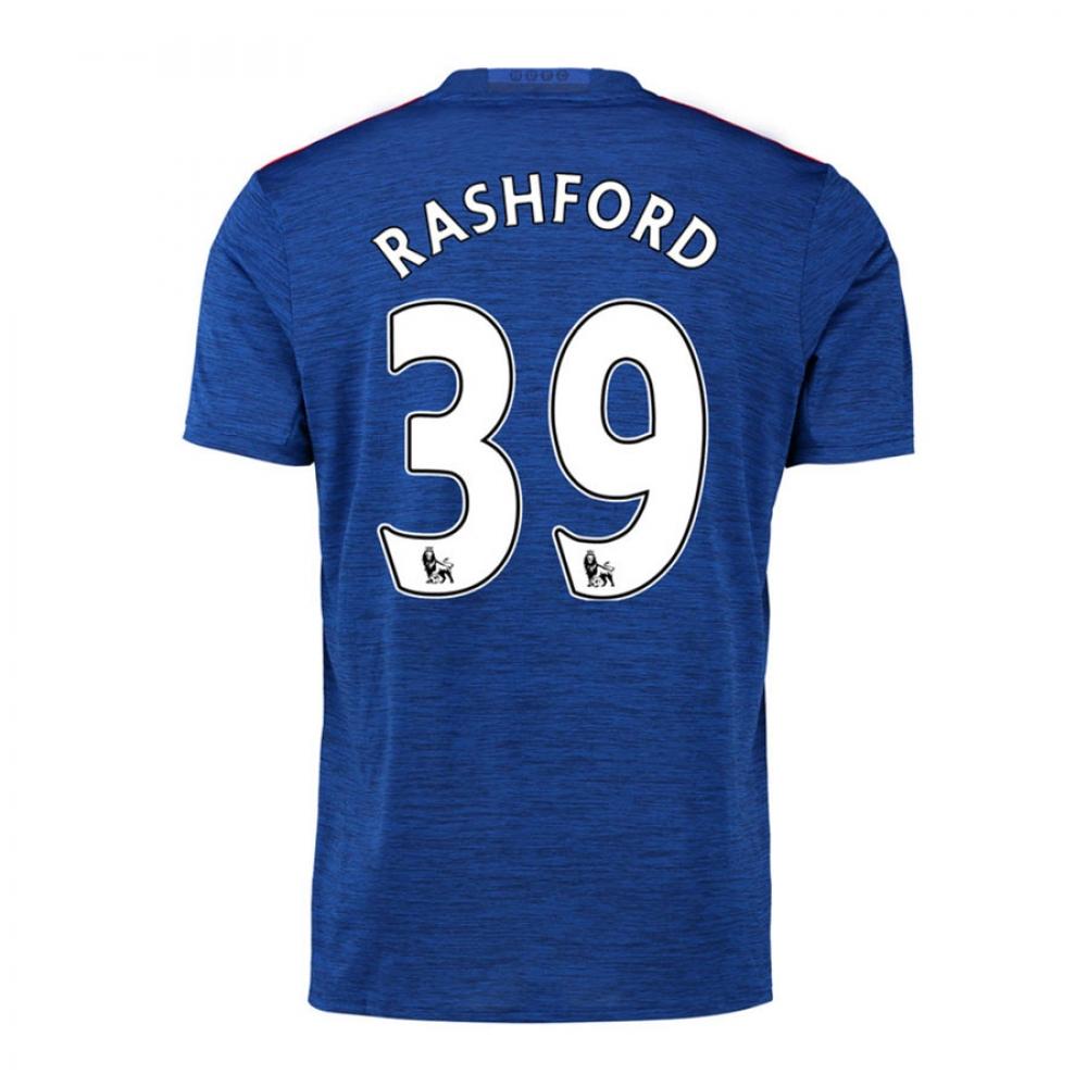 2016-17 Manchester United Away Shirt (Rashford 39) - Kids