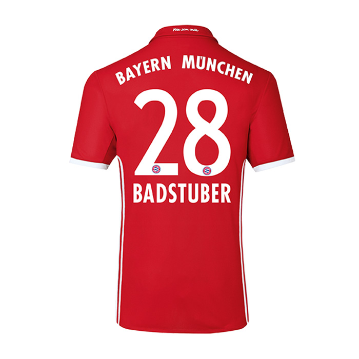 2016-17 Bayern Home Shirt (Badstuber 28)