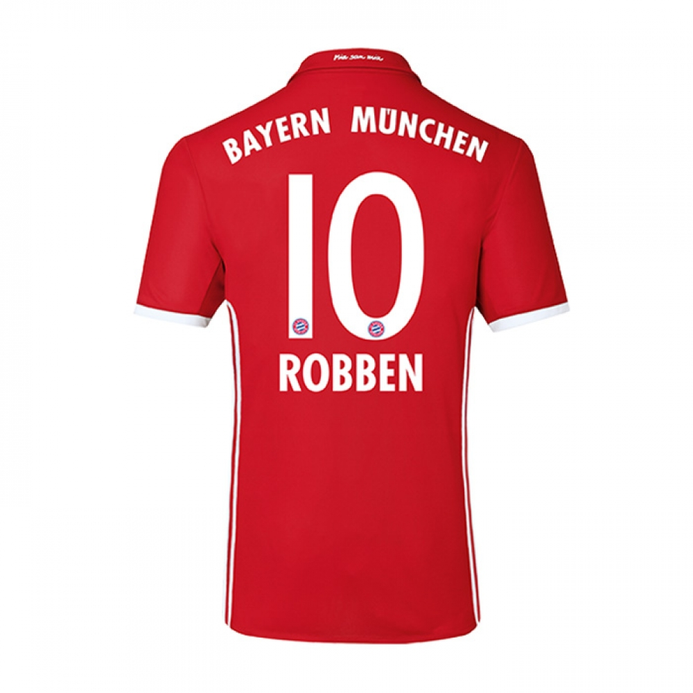 2016-17 Bayern Home Shirt (Robben 10)