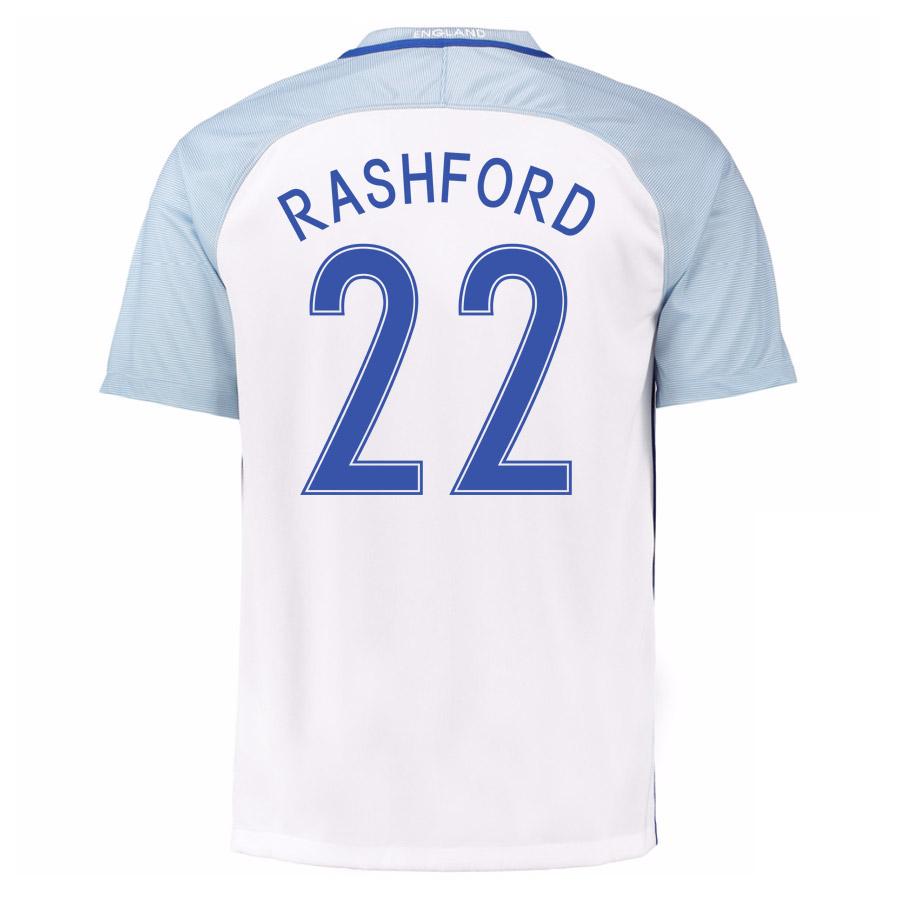 2016-17 England Home Shirt (Rashford 22)