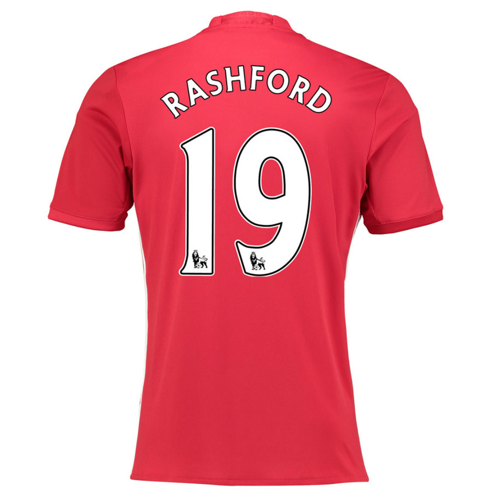 2016-17 Manchester United Home Shirt (Rashford 19) - Kids
