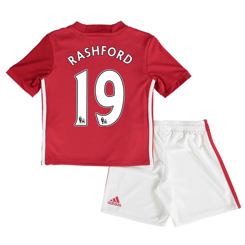 2016-17 Man United Home Mini Kit (Rashford 19)