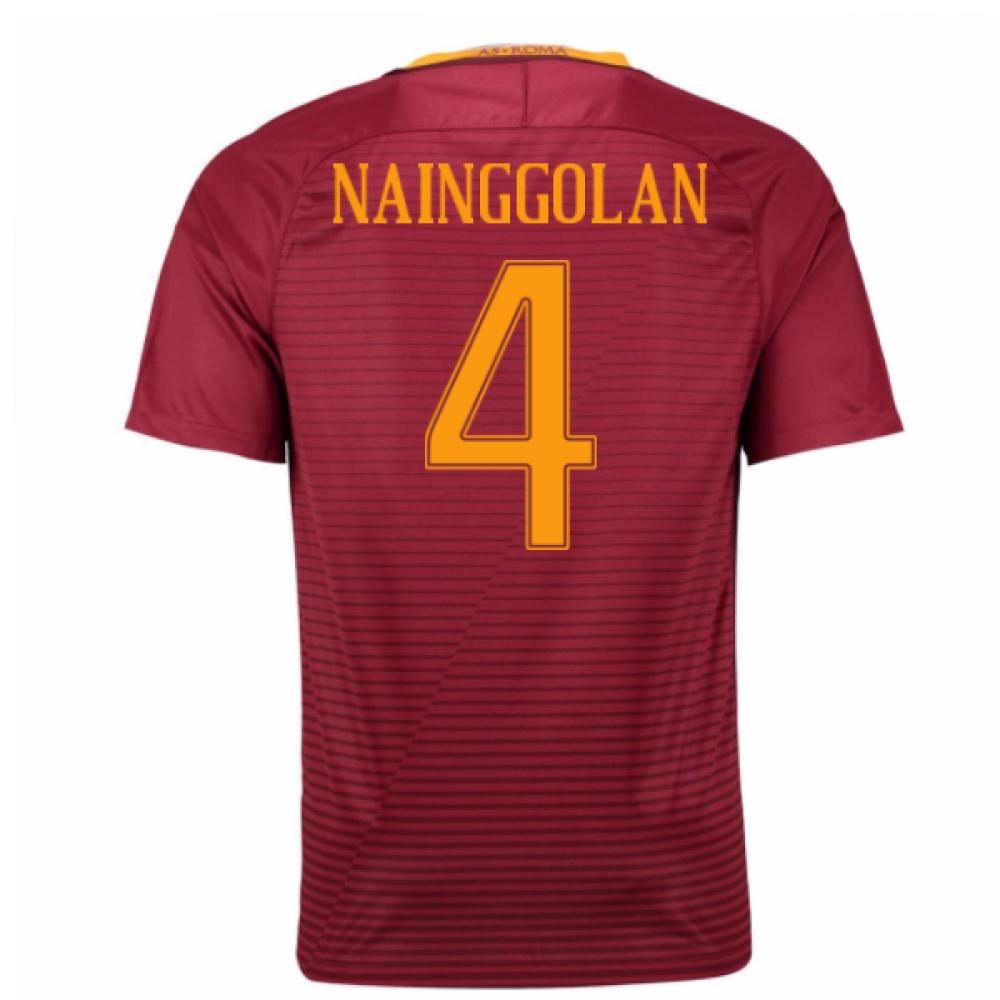 2016-17 Roma Home Shirt (Nainggolan 4) - Kids