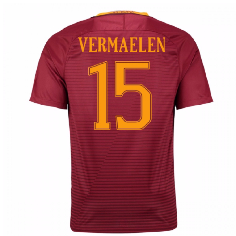 2016-17 Roma Home Shirt (Vermaelen 15) - Kids