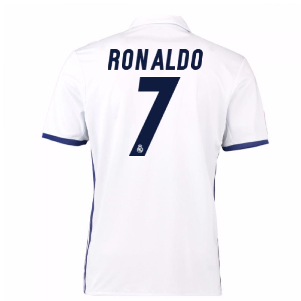 2016-17 Real Madrid Home Shirt (Ronaldo 7) - Kids
