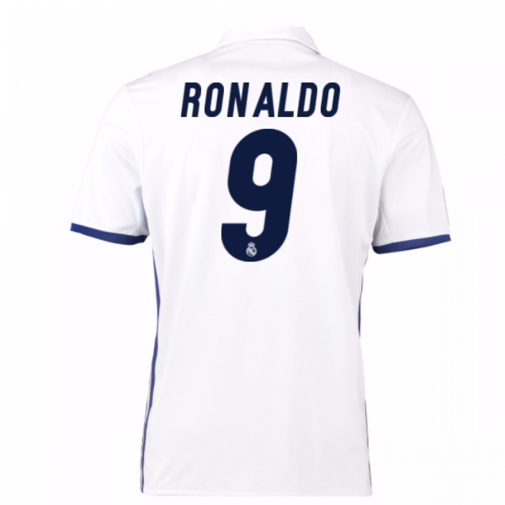2016-17 Real Madrid Home Shirt (Ronaldo 9) - Kids