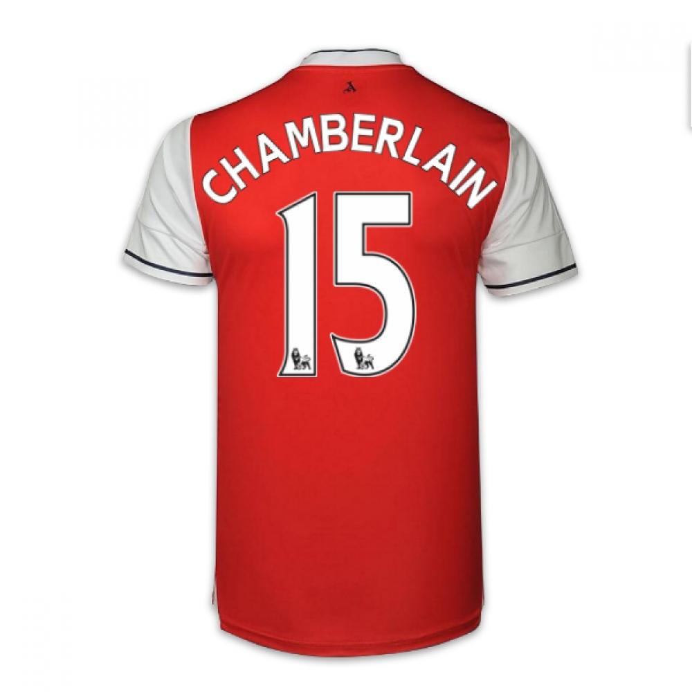 201617 Arsenal Home Shirt (Chamberlain 15)  Kids