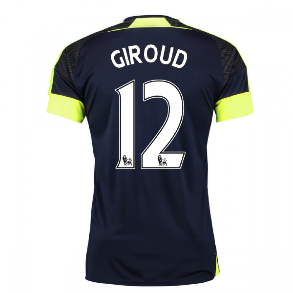 201617 Arsenal Third Shirt (Giroud 12)  Kids