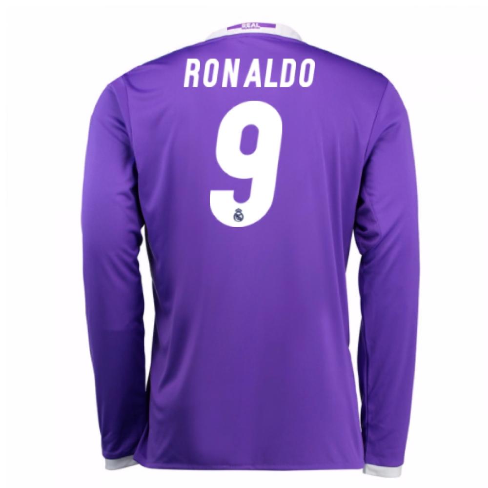 2016-17 Real Madrid Away Shirt (Ronaldo 9) - Kids