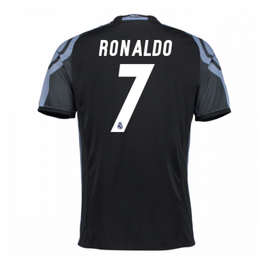 2016-17 Real Madrid 3rd Shirt (Ronaldo 7) - Kids