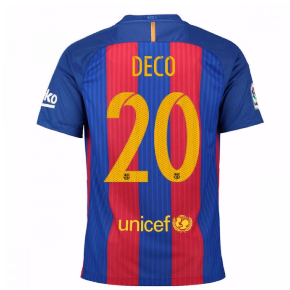 2016-17 Barcelona Home Shirt (Deco 20) - Kids