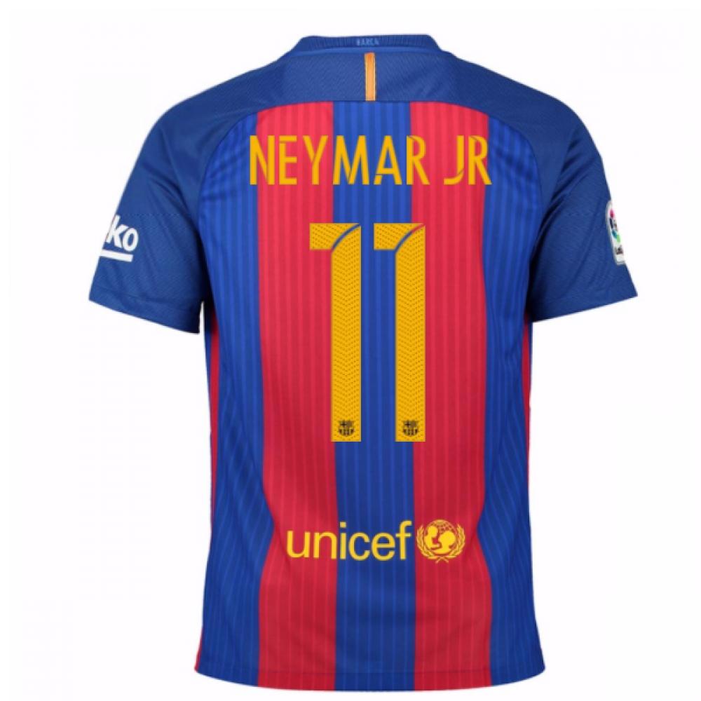 2016-17 Barcelona Home Shirt (Neymar JR 11) - Kids