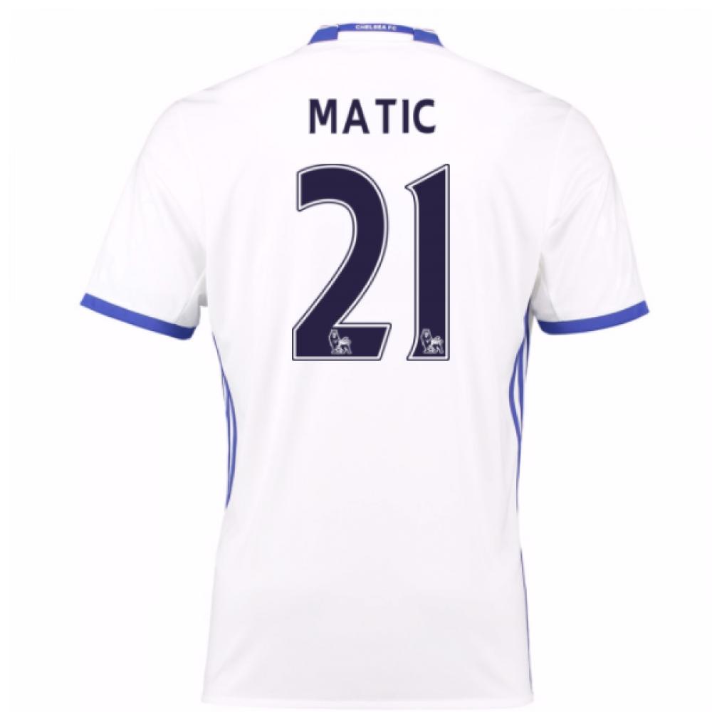 2016-17 Chelsea 3rd Shirt (Matic 21) - Kids