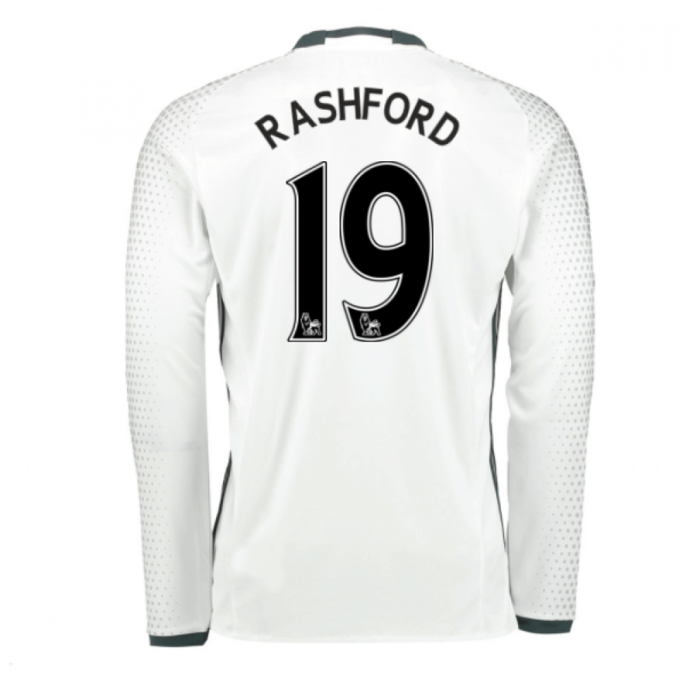 2016-17 Man United Third Shirt (Rashford 19) - Kids