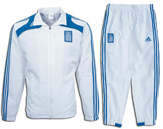 08-09 Greece Presentation Tracksuit - $60.69  Football Shirts Football Kit And Football Strip ...