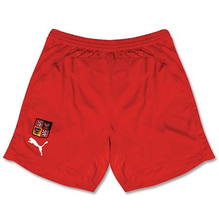 08-09 Czech Republic away shorts