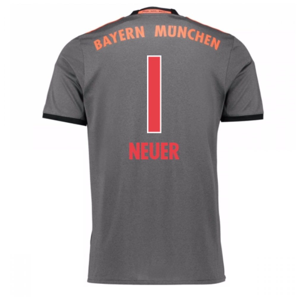 2016-17 Bayern Munich Away Shirt (Neuer 1) - Kids