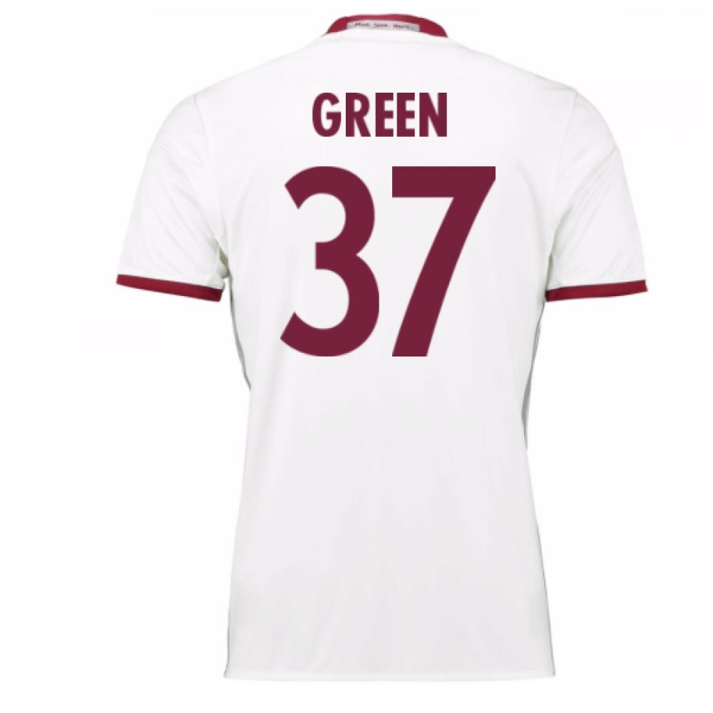 2016-17 Bayern Munich Third Shirt (Green 37) - Kids