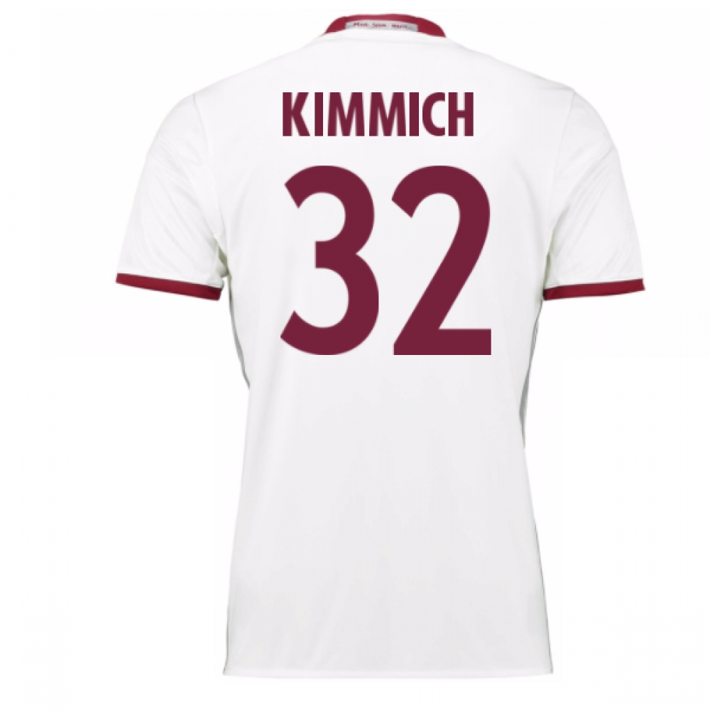2016-17 Bayern Munich Third Shirt (Kimmich 32) - Kids