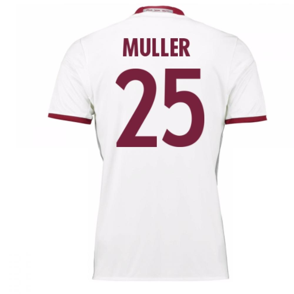 2016-17 Bayern Munich Third Shirt (Muller 25) - Kids
