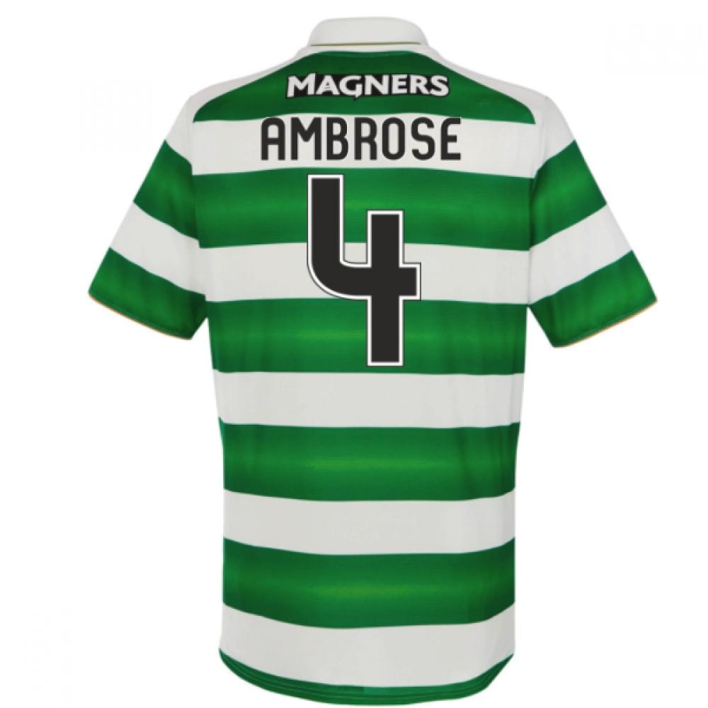 2016-17 Celtic Home Shirt (Ambrose 4) - Kids