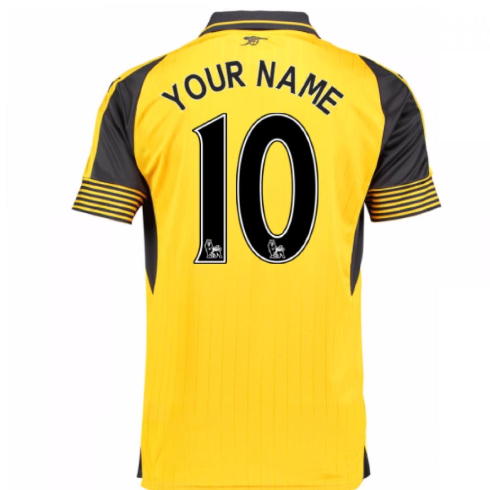 2016-17 Arsenal Away Shirt (Your Name) -Kids