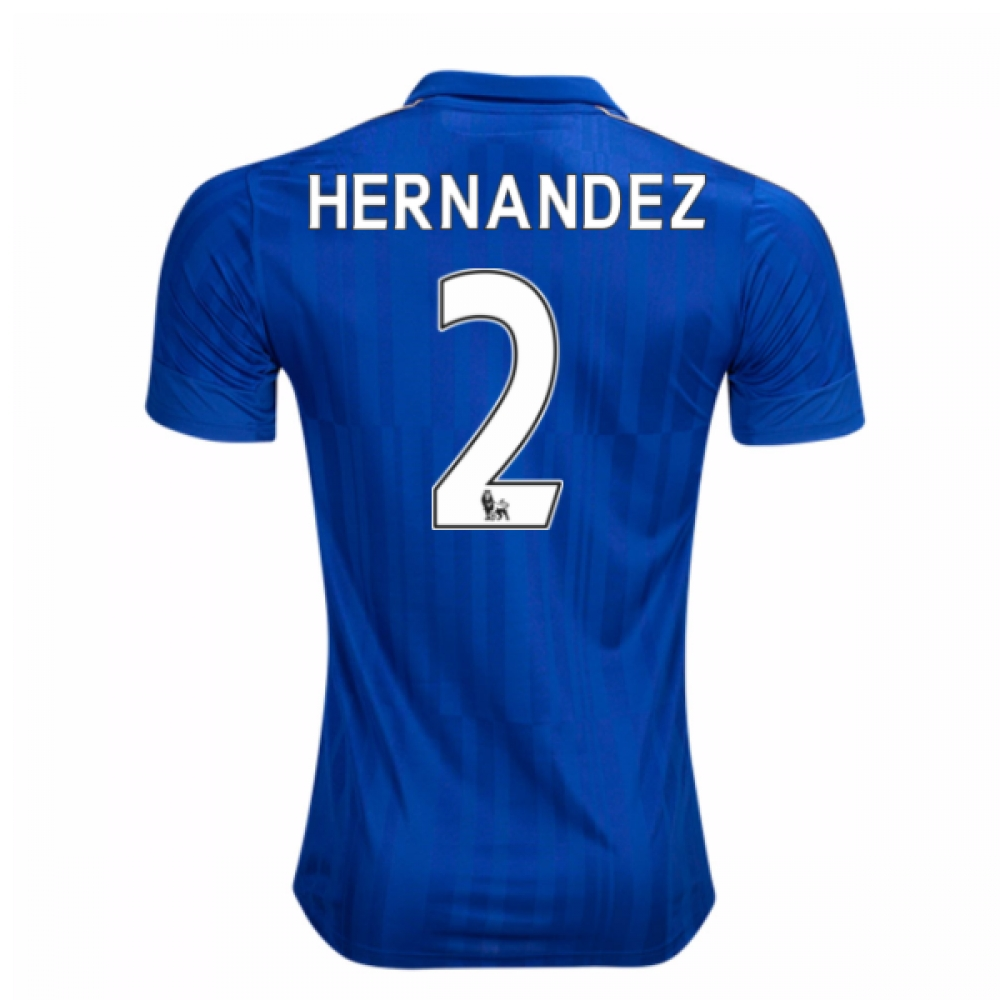 2016-17 Leicester City Home Shirt (Hernandez 2) - Kids