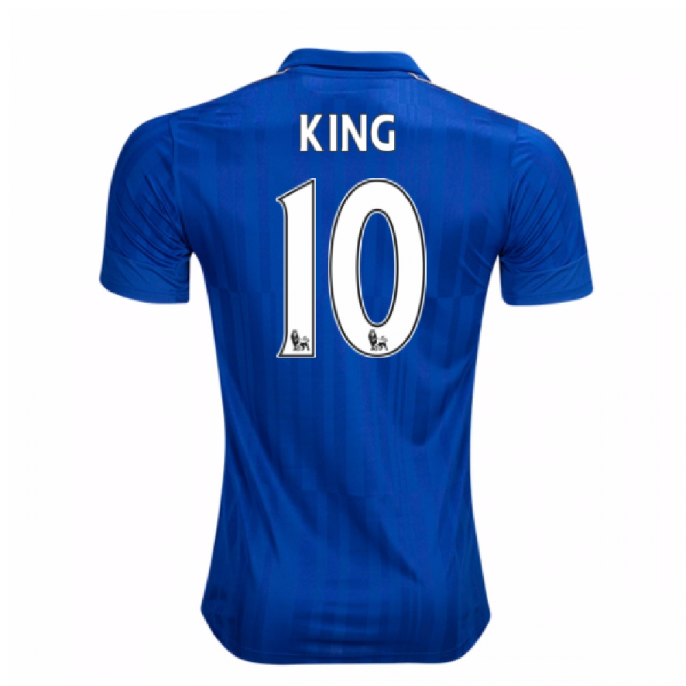 2016-17 Leicester City Home Shirt (King 10) - Kids