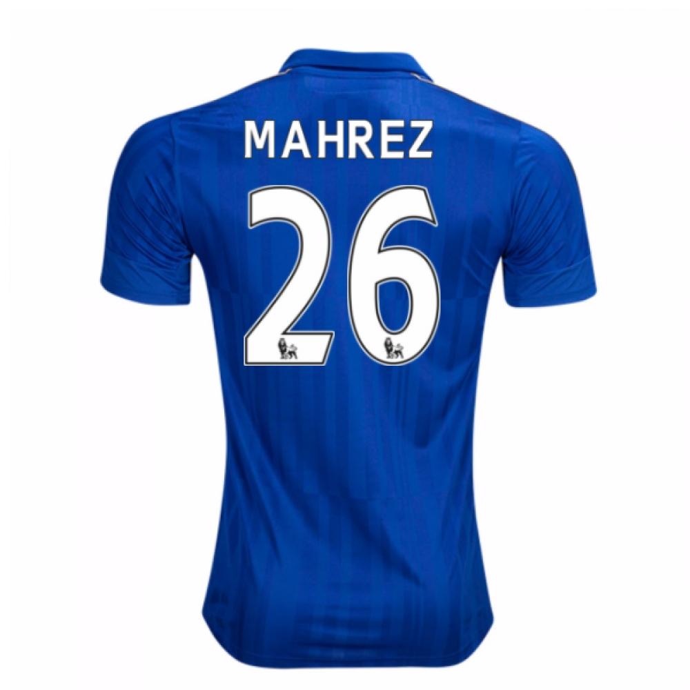 2016-17 Leicester City Home Shirt (Mahrez 26) - Kids