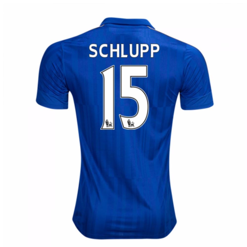 2016-17 Leicester City Home Shirt (Schlupp 15) - Kids