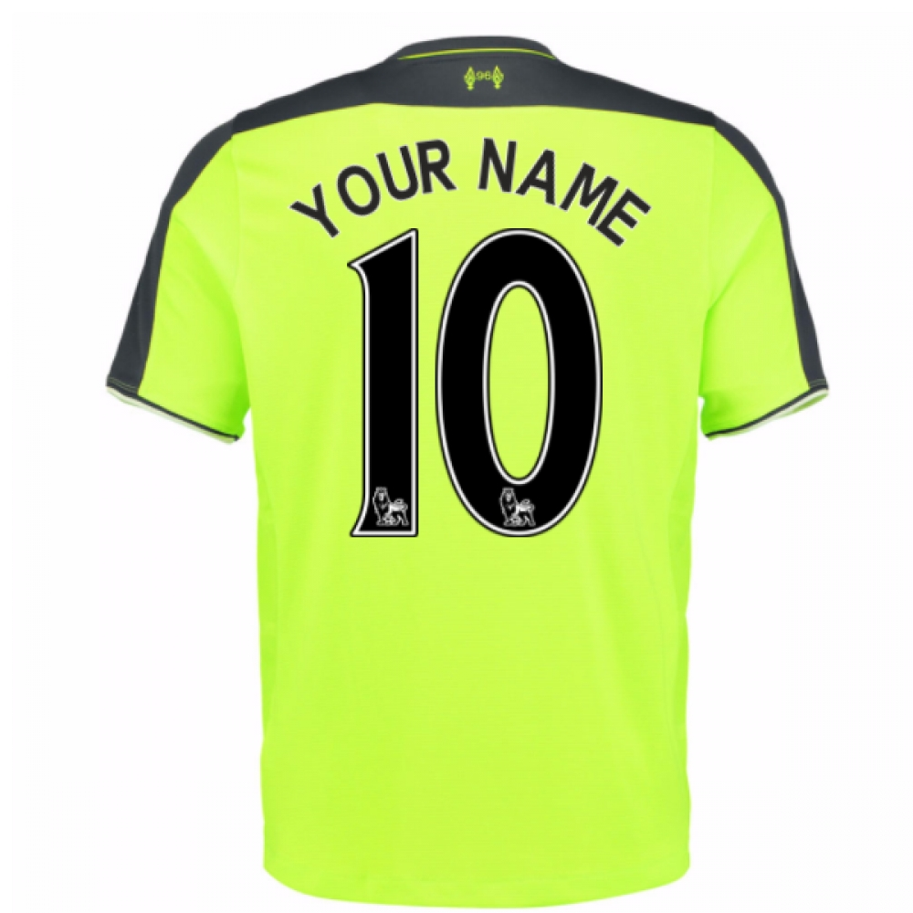 2016-17 Liverpool 3rd Shirt (Your Name) -Kids