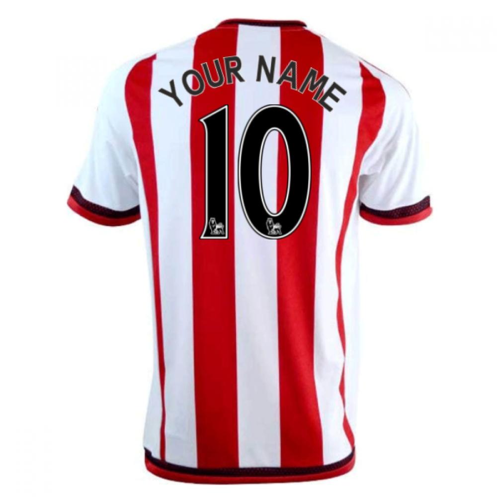 2016-17 Sunderland Home Shirt (Your Name)