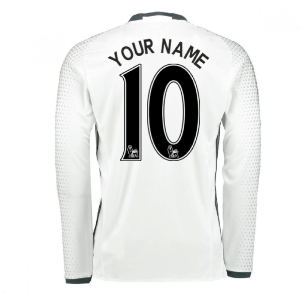 2016-17 Man United Third Shirt (Your Name)