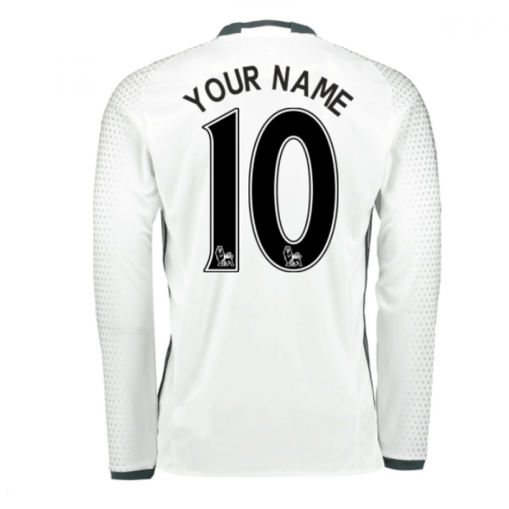2016-17 Man United Third Shirt (Your Name) -Kids