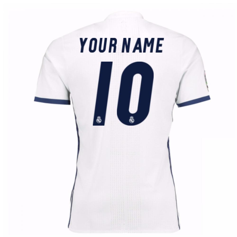 2016-17 Real Madrid Home Shirt (Your Name) -Kids