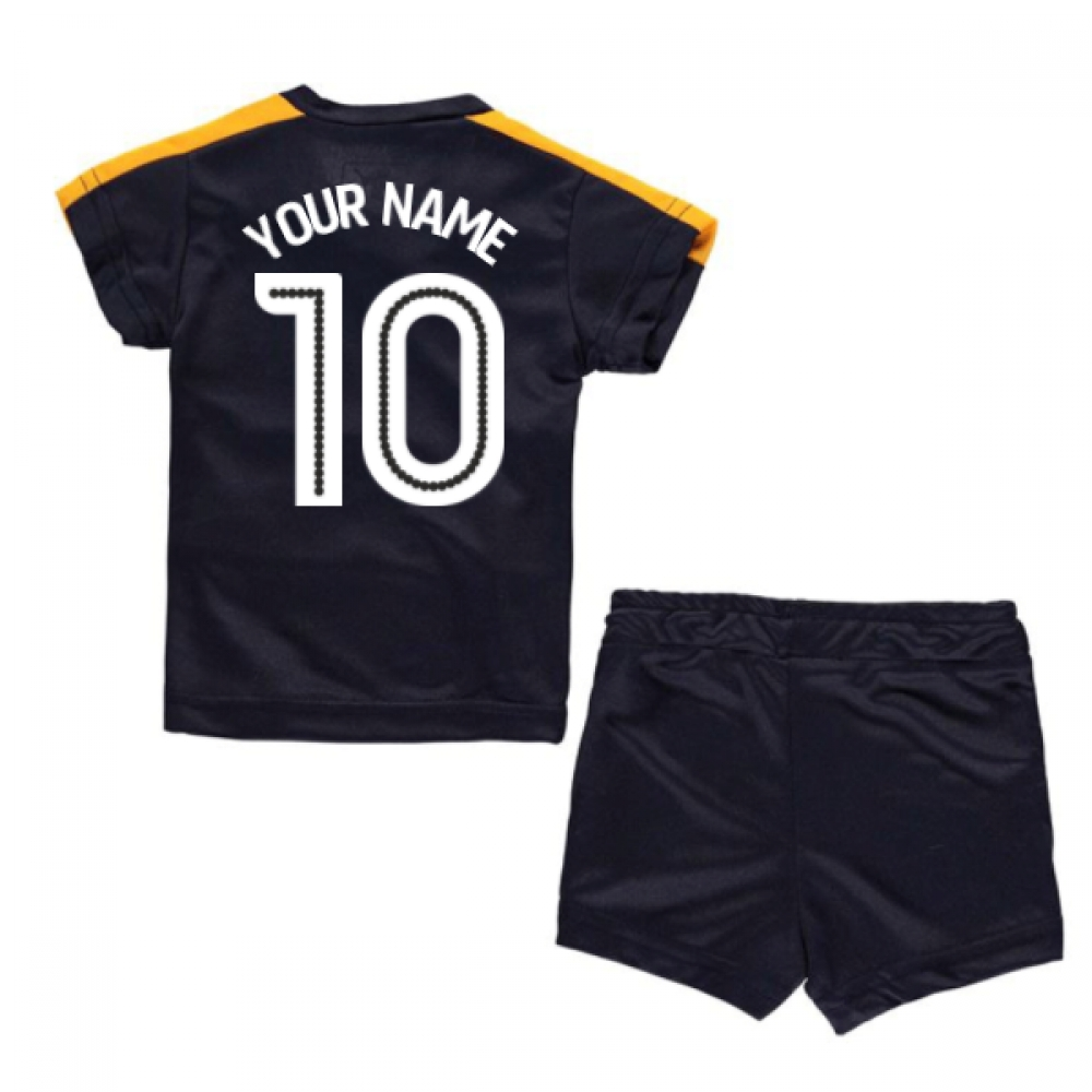 2016-17 Newcastle Away Baby Kit (Your Name)