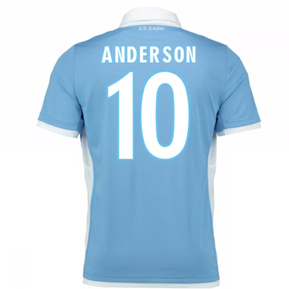 2016-17 Lazio Home Shirt (Anderson 10) - Kids