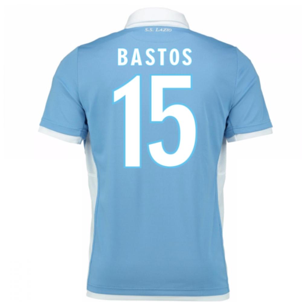 2016-17 Lazio Home Shirt (Bastos 15) - Kids