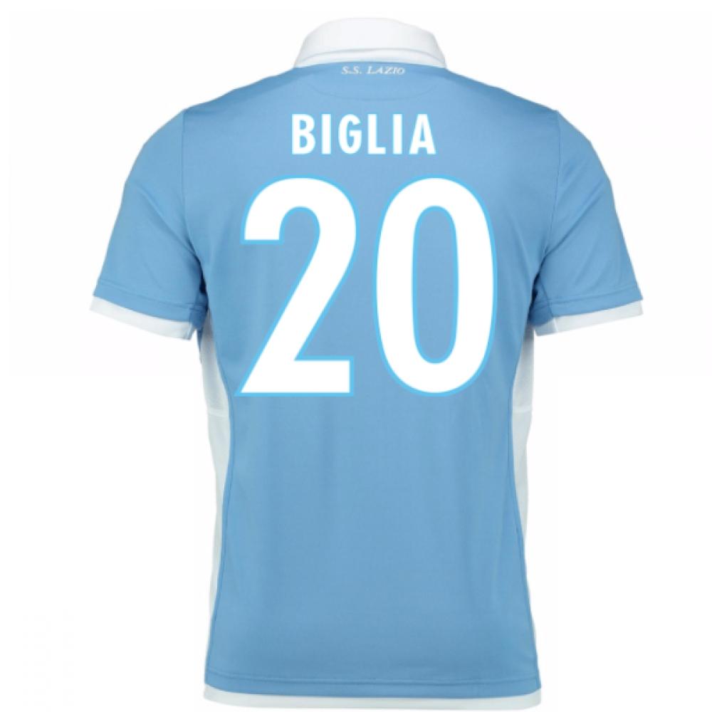 2016-17 Lazio Home Shirt (Biglia 20) - Kids