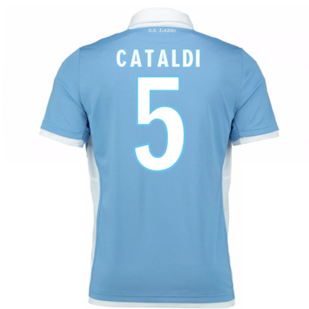2016-17 Lazio Home Shirt (Cataldi 5) - Kids
