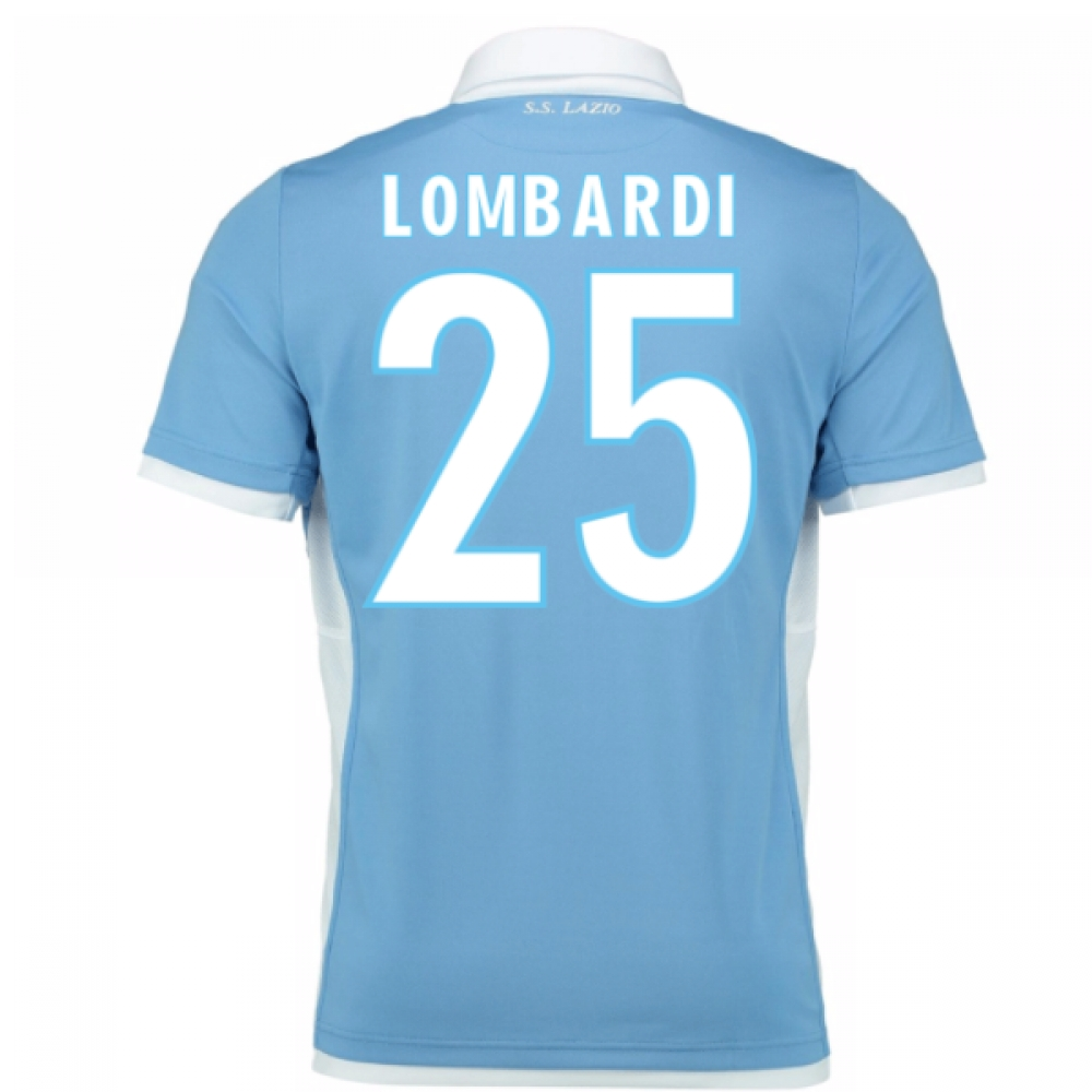 2016-17 Lazio Home Shirt (Lombardi 25) - Kids
